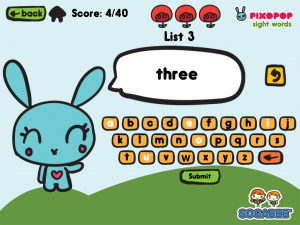 Sight Words & Spelling With Pixopop Spelling