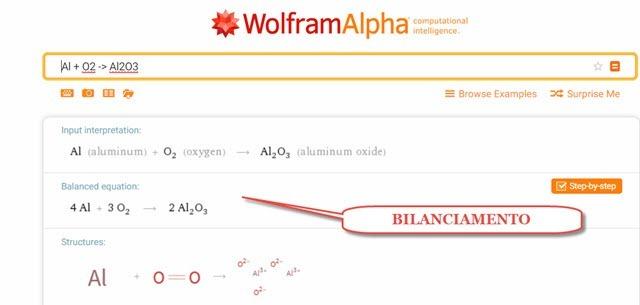 bilanciamento-reazioni-chimiche-wolframalpha
