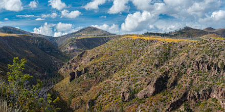 Photo: West end of Los Alamos Canyon