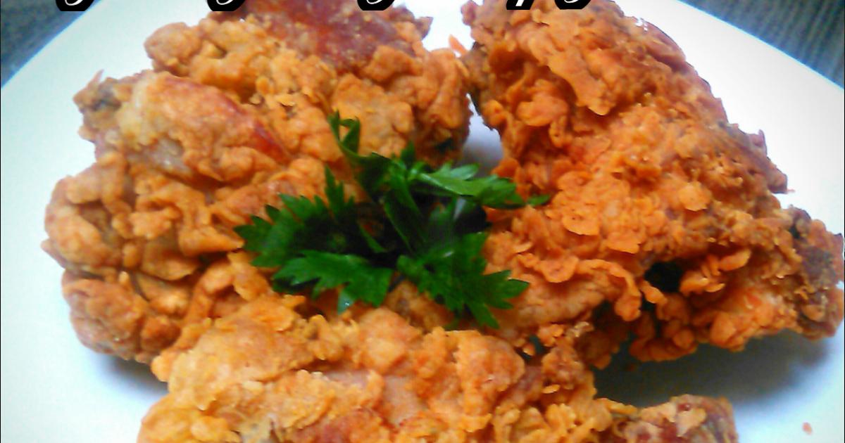 resep ayam goreng tepung crispy renyah keriting dan mudah