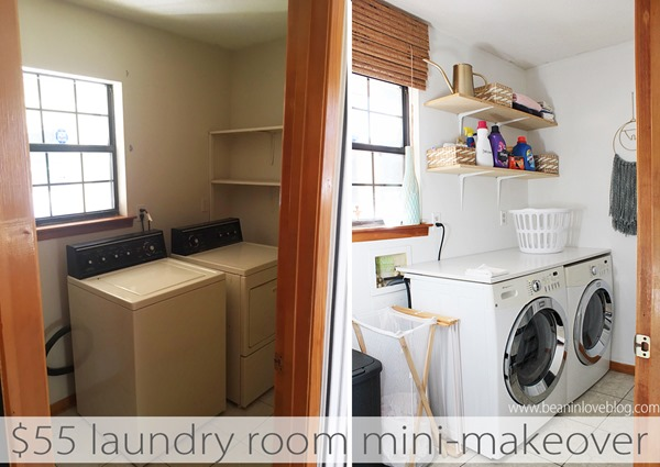 55 laundry room makeover