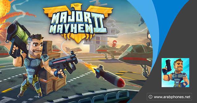 تحميل لعبة Major Mayhem 2 مهكرة اخر اصدار