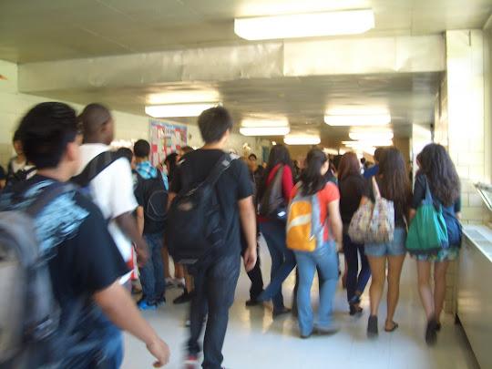 how to solve crowded hallways