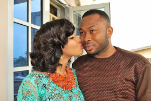 Photos from Tonto Dike's traditional engagement
