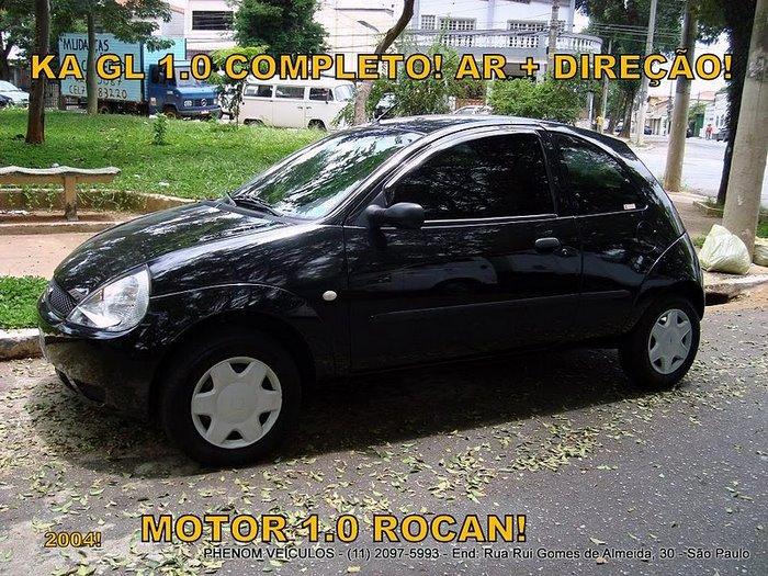 Ford KA 2004 Completo - Motor Zetec Rocam