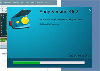 Andy - um emulador Android para o PC inteiramente gratuito - Visual DicasAndy - um emulador Android para o PC inteiramente gratuito - Visual Dicas