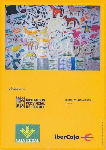 Contraportada Revista Pancrudo nº6 (2002). Decorado de teatro