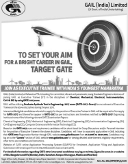 GAIL ET Recruitment GATE 2017