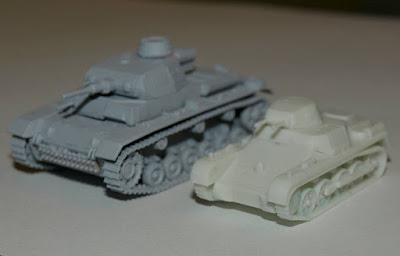 Panzer I & III