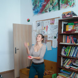 Szkolenie ze sztuczek cyrkowych