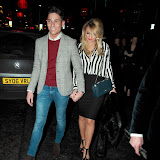 WWW.ENTSIMAGES.COM -   Joey Essex and Sam Faiers arriving at Billie Faiers 23rd Birthday Party Cafe De Paris , Coventry Street London W1D 6BL January 19th 2013               Photo Mobis Photos/OIC 0203 174 1069