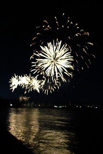 1607007 Jul 01 Fireworks In Fort Erie At Niagara River