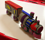 3D Train by Cate