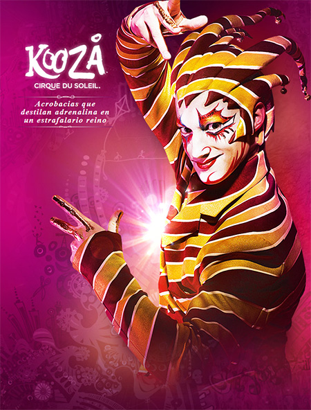 Cirque du Soleil regresará a Madrid en marzo de 2013 con su espectáculo KOOZA