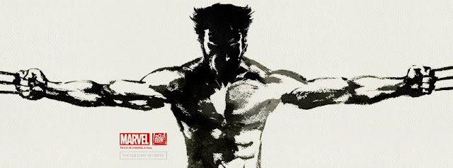 The Wolverine Facebook oriental Ink teaser poster