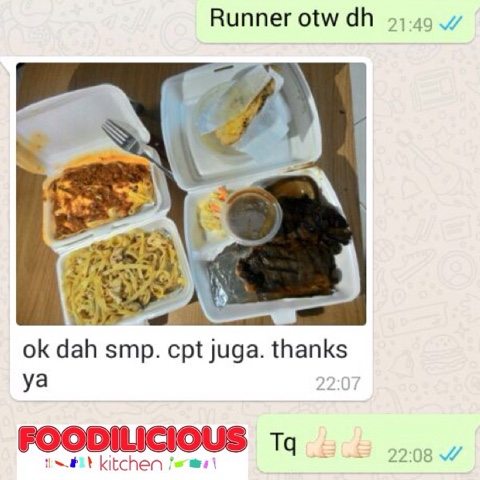 Home Food Delivery Service Shah Alam