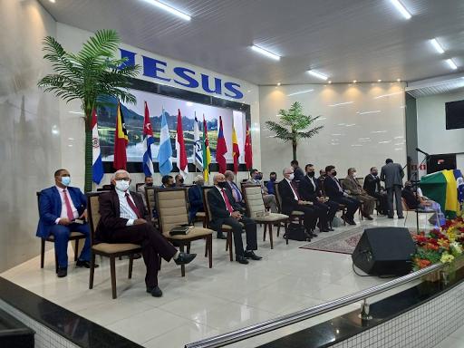Assembleia de Deus realiza Culto de Missões, obedecendo os protocolos de segurança contra o Covid