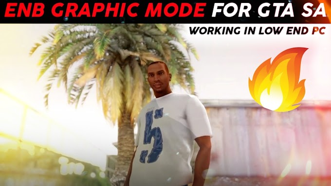 GTA San Andreas ( HIGH GRAPHIC MOD ) for 2GB RAM | Installation in Low End PC