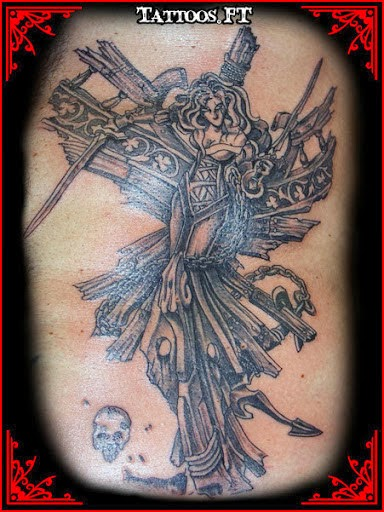 Samurai and warrior tattoos meanings and pictures for Female samurai tattoo