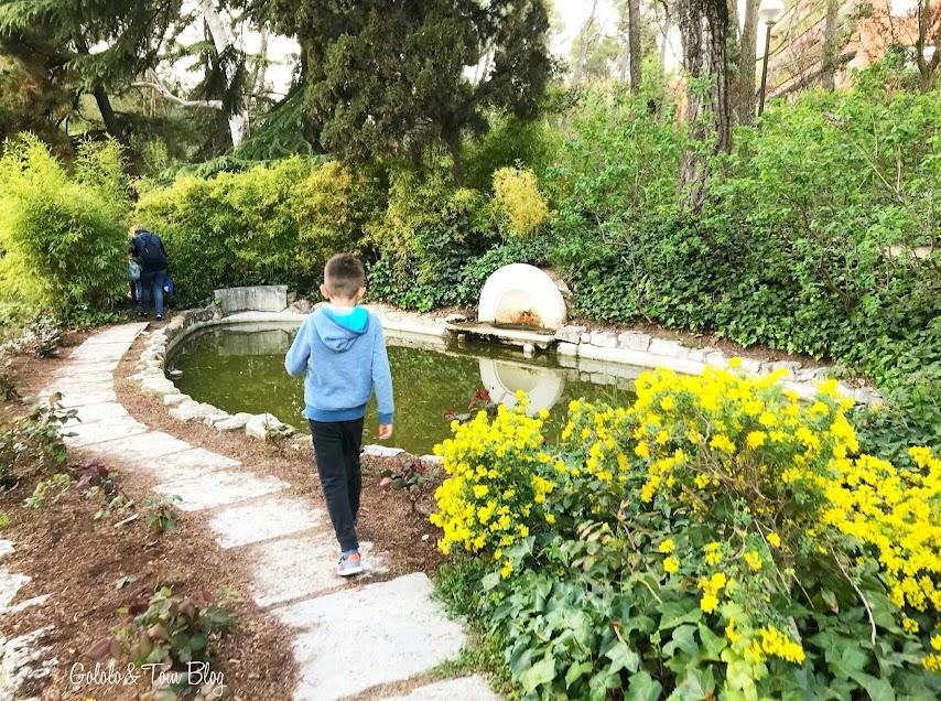Parque de La Quinta de los Molinos con niños