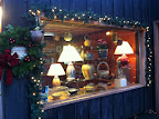 Shop Christmas window.  All ready for the season
