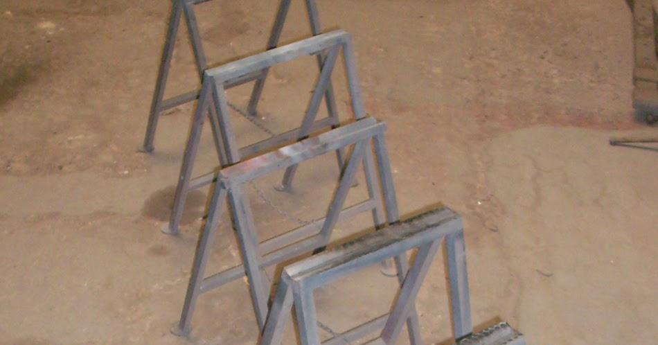 Herramientas en venta caballete plegable de hierro 44cm - Caballetes de hierro ...