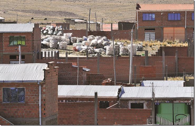 Basura en El Alto
