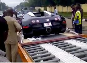 Lagos Man Takes Delivery Of N472,000 Million Bugatti Veyron (Pics)