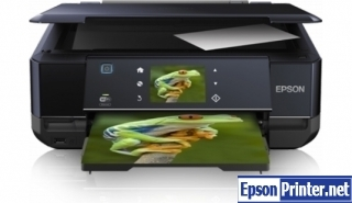 How to reset flashing lights for Epson XP-750 printer