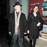 WWW.ENTSIMAGES.COM -  Ian Hislop and Victoria Hislop  arriving at  Costa Book of The Year Award 2012 at Quaglino's Bury Street London January 29th 2013                                                         Photo Mobis Photos/OIC 0203 174 1069