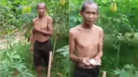 Curi Singkong karena Kelaparan