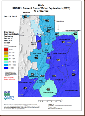 Wx - 25 Dec - UT basin snowpack