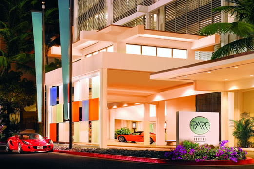 ワイキキ・パーク・ホテル 外観イメージ