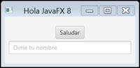 Primer programa usando la API JavaFX
