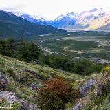 Visão do paraíso - Trilha Laguna de los Tres, Parque Nacional Los Glaciares, El Chaltén, Argentina