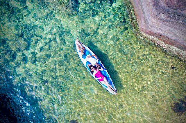 Review chi tiết tour cano 4 đảo Phú Quốc trong ngày
