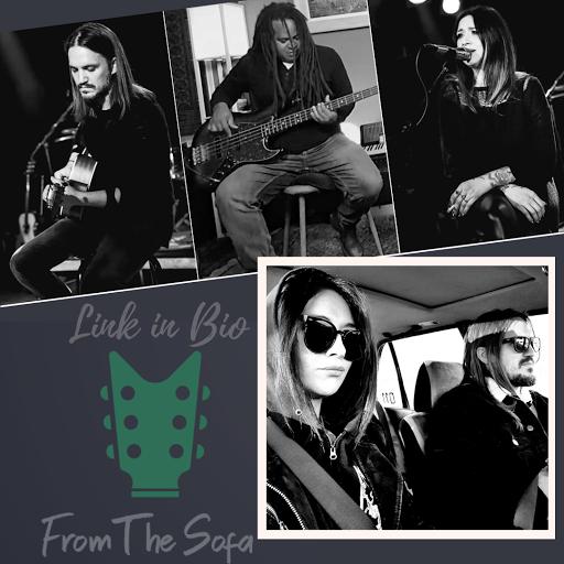 A bluesy sound with Americana influence. // Un sonido de blues con influencia de Americana.