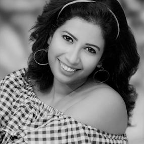 Innocence by Rajib Chatterjee - Black & White Portraits & People