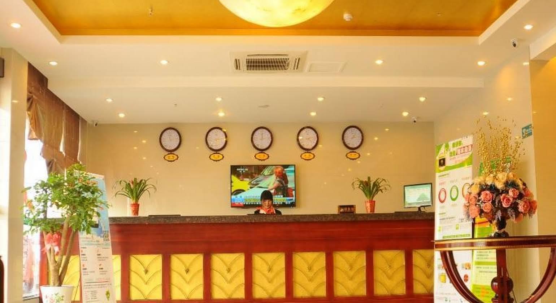 Greentree Inn Huaian Lianshui Jindi International Garden Business Hotel