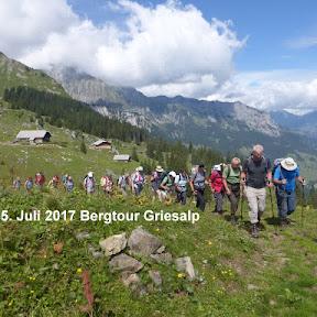 Bergtour Griesalp