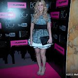 WWW.ENTSIMAGES.COM - Cheska Hull  at     BeautyCon - afterparty Home House, 20 Portman Square, London February 18th 2013                                                    Photo Mobis Photos/OIC 0203 174 1069