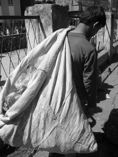 Plastic-boy de Katmandou
