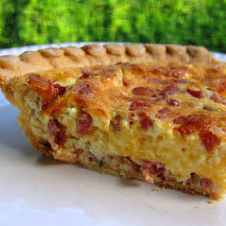 Cracked Out Quiche.