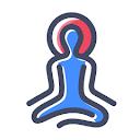 dynami yoga, DT Mega Mall, Gurgaon logo