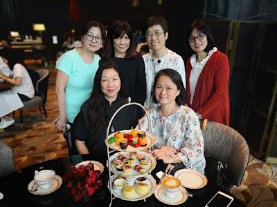2019年5月4日,女同學到灣仔 Grand Hyatt 飲 High Tea,直落到深水埗森記吃晚餐