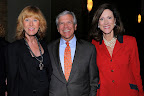 Suzanne Charrierre, chairman of the board, Texas Ballet; Bob Corder, Dini Partners; Karen Waller, Dini Partners, sponsor of Outstanding Volunteer Fundraiser Award