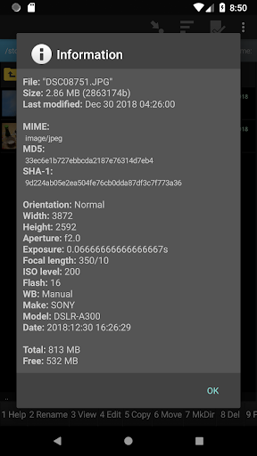 Screenshot for Ghost Commander File Manager (donate) in United States Play Store