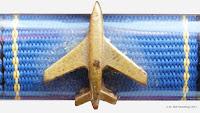 189 Medaille für treue Dienste in der zivilen Luftfahrt in Gold Stufe I www.ddrmedailles.nl