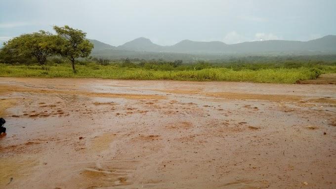 Chuva volta a cair na comunidade de formigueiro