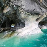 De volta às cuevas de Mármol, Puerto Rio Tranquilo, Chile